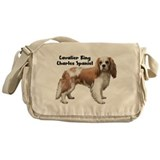 Cavalier King Charles Messenger Bag