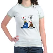 The Way to His Heart... Jr. Ringer T-Shirt