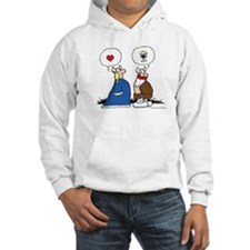 The Way to His Heart... Hooded Sweatshirt