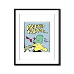 Mallard Fillmore Logo Framed Panel Print