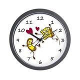 I love Mac and Cheese Wall Clock