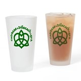 Celtic Love Knot Drinking Glass
