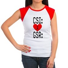 I LOVE CSI & GSR Tee
