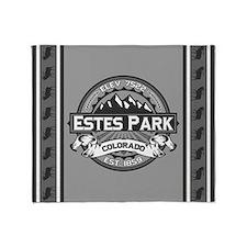 Estes Park Grey Throw Blanket