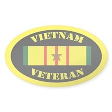 Vietnam Veteran 1 Campaign Star Decal