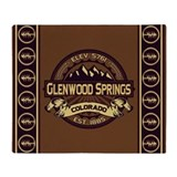 Glenwood Springs Sepia Throw Blanket