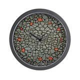 Stone Wall Design Wall Clock