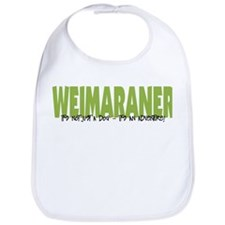 Weimaraner IT'S AN ADVENTURE Bib