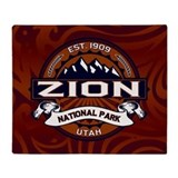 Zion Logo Vibrant Throw Blanket