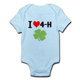 I Heart 4-H Infant Bodysuit