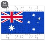 Australia Blank Flag Puzzle