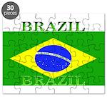Brazil Brazilian Flag Puzzle