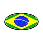 Brazil Blank Flag Patches