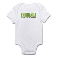 Chihuahua IT'S AN ADVENTURE Infant Bodysuit