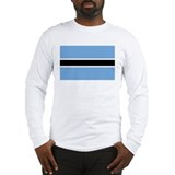 Flag of Botswana Long Sleeve T-Shirt