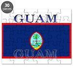 Guam Guaminian Flag Puzzle