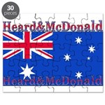 Heard & McDonald Flag Puzzle