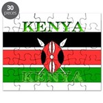 Kenya Kenyan Flag Puzzle