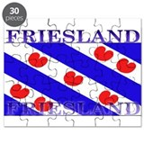 Friesland Frisian Flag Puzzle