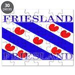 Friesland Frisian Flag Puzzle