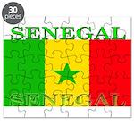 Senegal Senegalese Flag Puzzle