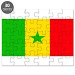 Senegal Blank Flag Puzzle
