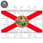 Florida Sunshine State Flag Puzzle