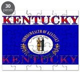 Kentucky State Flag Puzzle