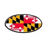 Maryland Blank Flag Patches