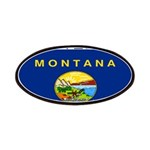 Montana State Flag Patches