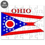 Ohio State Flag Puzzle
