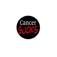 Cancer Sucks on a Mini Button (10 pack)