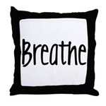 Breathe Throw Pillow