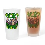 Gunfighters Drinking Glass