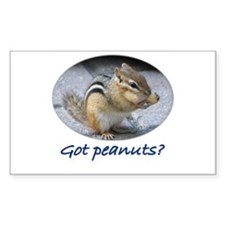 Got Peanuts? Rectangle Decal