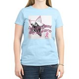 Monkey Awareness Front Women's Pink T-Shirt