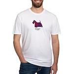 Terrier - Fraser of Reelig Fitted T-Shirt