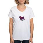 Terrier - Fraser of Reelig Women's V-Neck T-Shirt