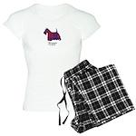Terrier - Fraser of Reelig Women's Light Pajamas