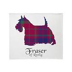 Terrier - Fraser of Reelig Throw Blanket
