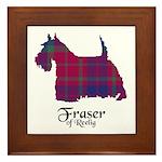 Terrier - Fraser of Reelig Framed Tile