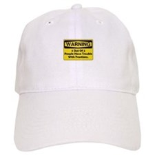 Warning Fraction Baseball Cap
