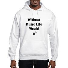 Music B Flat Hoodie