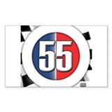 55 Cars Logo Decal