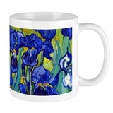 Van Gogh - Irises 1889  Tasse