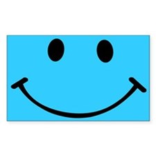 Smiley Sky Blue Decal