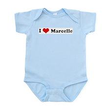 I Love Marcelle Infant Creeper