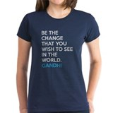 Be the Change Gandhi Quote Tee