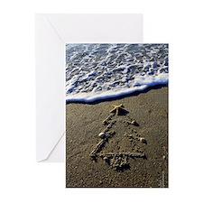 Beachwrite's Christmas Greeting Cards (Pk of 10)