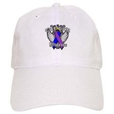 Bladder Cancer Warrior Baseball Cap